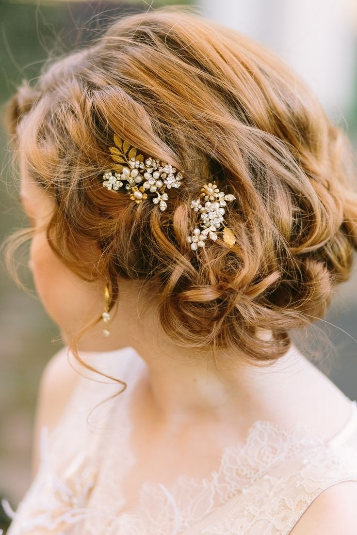 47 Best Bridal Hair Images On Pinterest (View 5 of 15)