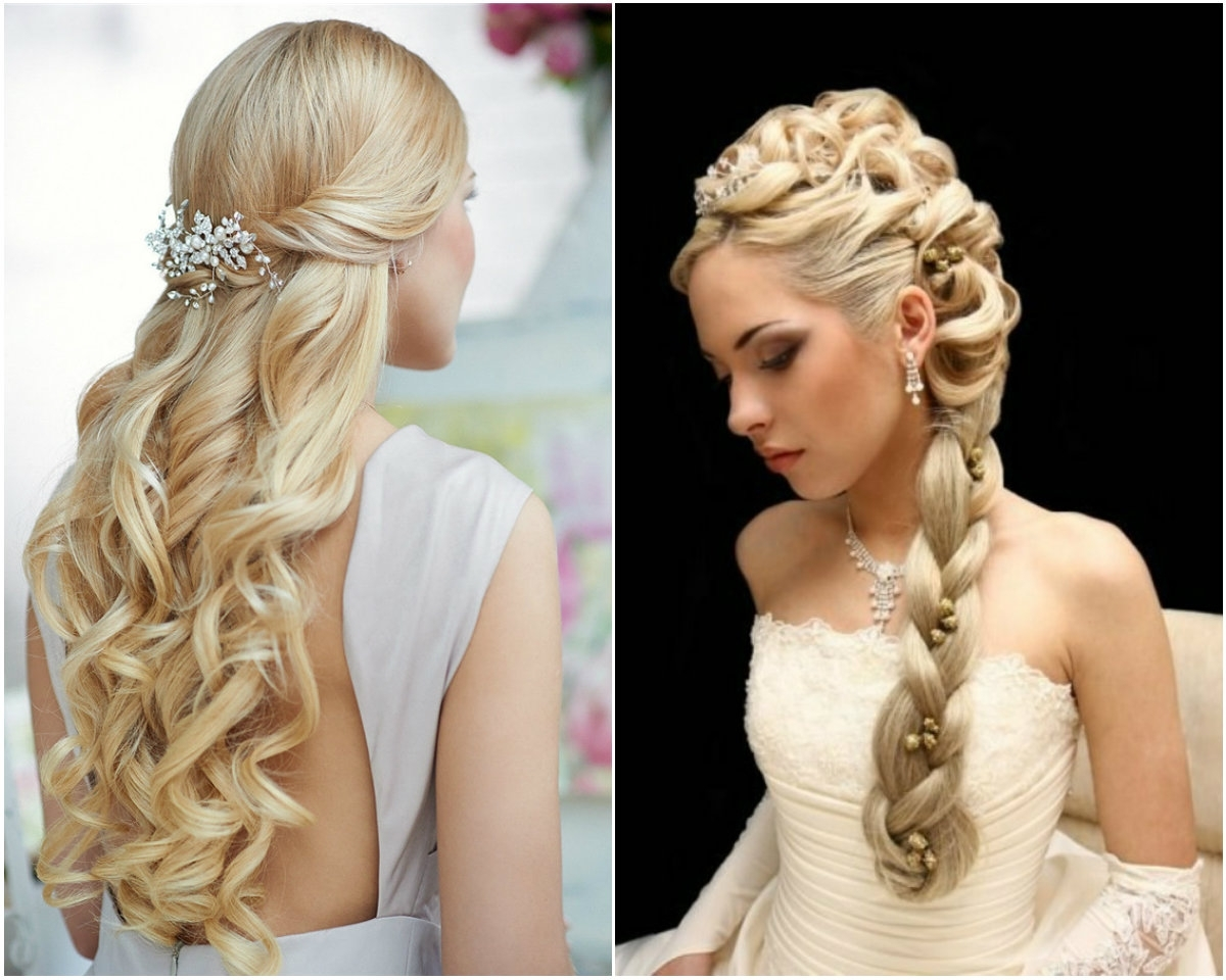 5 Beads Adorned Side Braid Princess Hair Style (View 8 of 15)
