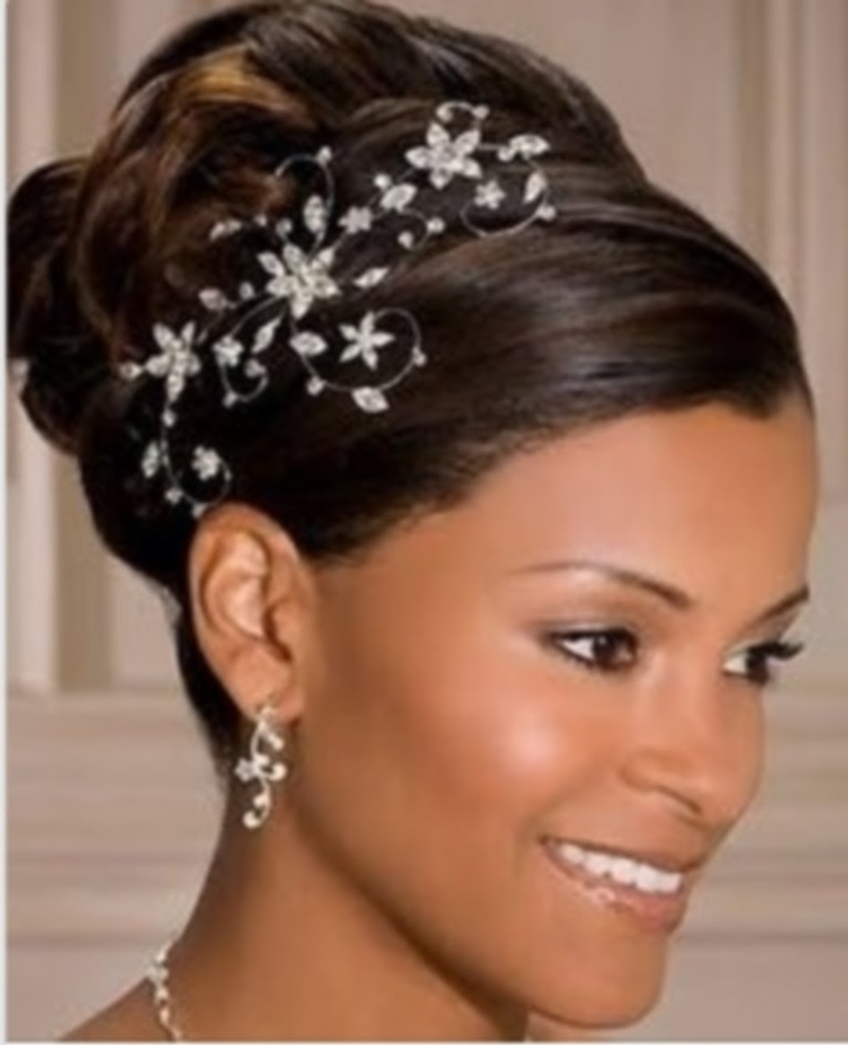 50 Wedding Hairstyles For Nigerian Brides And Black African Women Within Trendy Short Wedding Hairstyles For Black Bridesmaids (View 5 of 15)