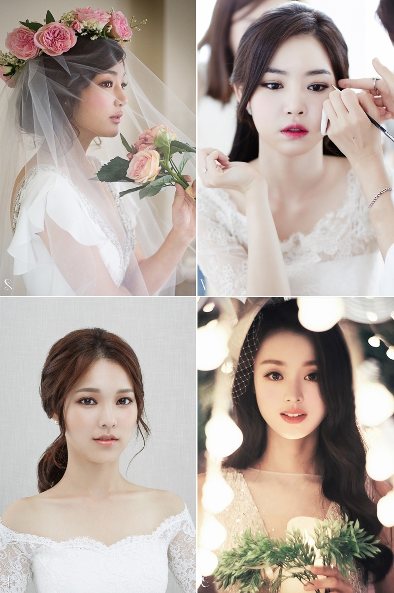 6 Korean Bridal Hair & Makeup Style Trends You Must Know! – Praise For 2018 Korean Wedding Hairstyles (View 4 of 15)
