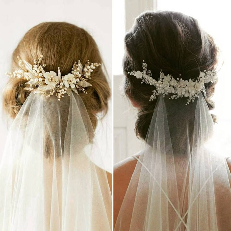 63 Perfect Hairdo Ideas For A Flawless Wedding Hairstyle With Veil For Current Wedding Hairstyles For Long Hair Half Up With Veil (View 2 of 15)