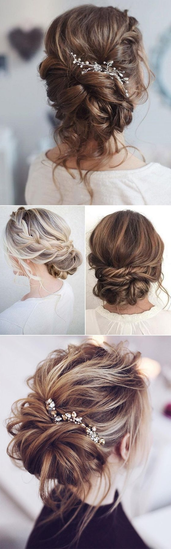 778 Best Wedding Hairstyles Images On Pinterest (View 5 of 15)