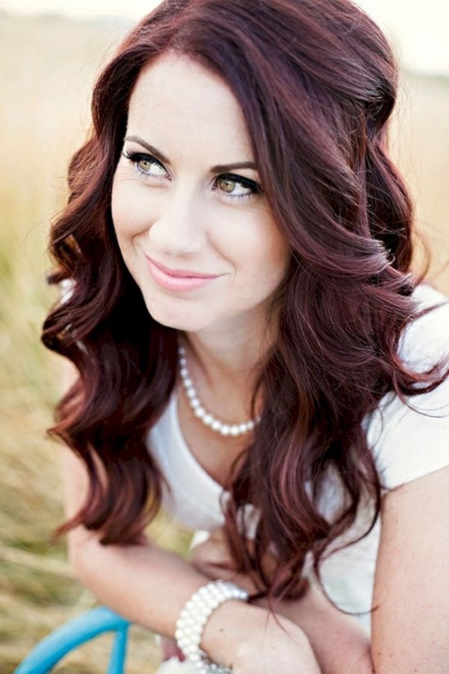 80 Beautiful And Adorable Half Up Half Down Wedding Hairstyles Ideas With Most Popular Wedding Hairstyles For Long Red Hair (Gallery 14 of 15)