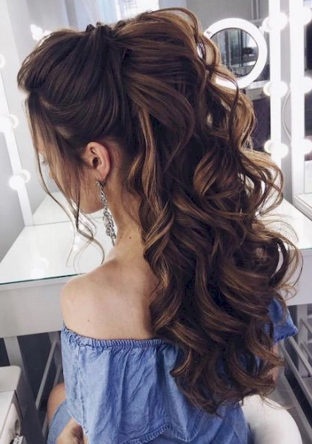 96 Bridal Wedding Hairstyles For Long Hair That Will Inspire With Famous Wedding Hairstyles For Long Layered Hair (Gallery 1 of 15)