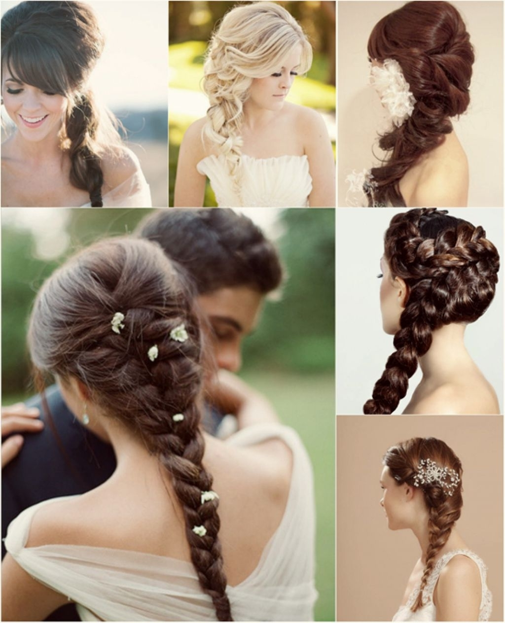 Above Long Braided Black And Blonde Wedding Hairstyles – Girly With Preferred Wedding Updos For Long Hair With Braids (View 4 of 15)