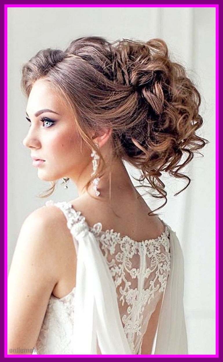 Amazing Elegant Bridal For Long Hair Hairstyle Picture Of Wedding Within Current Elegant Wedding Hairstyles (View 11 of 15)