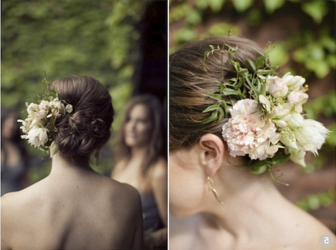 Amazing Wedding Hairstyles With Flowers In Most Recently Released Wedding Hairstyles With Flowers (Gallery 10 of 15)