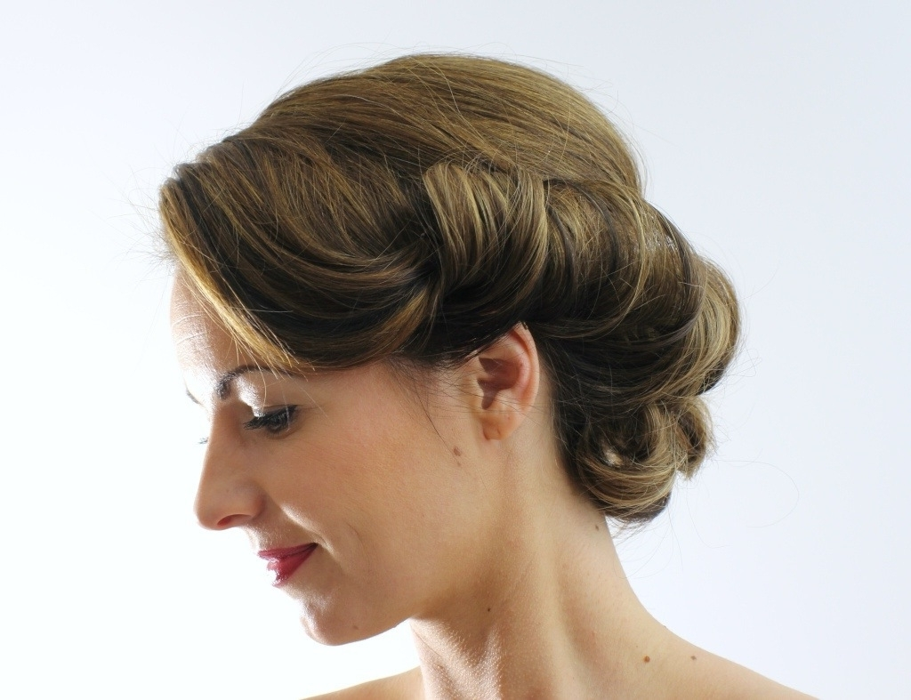 Amelia Garwood – Wedding Hair & Make Up Artist Norwich 1930S Vintage With Best And Newest Roll Hairstyles For Wedding (Gallery 7 of 15)