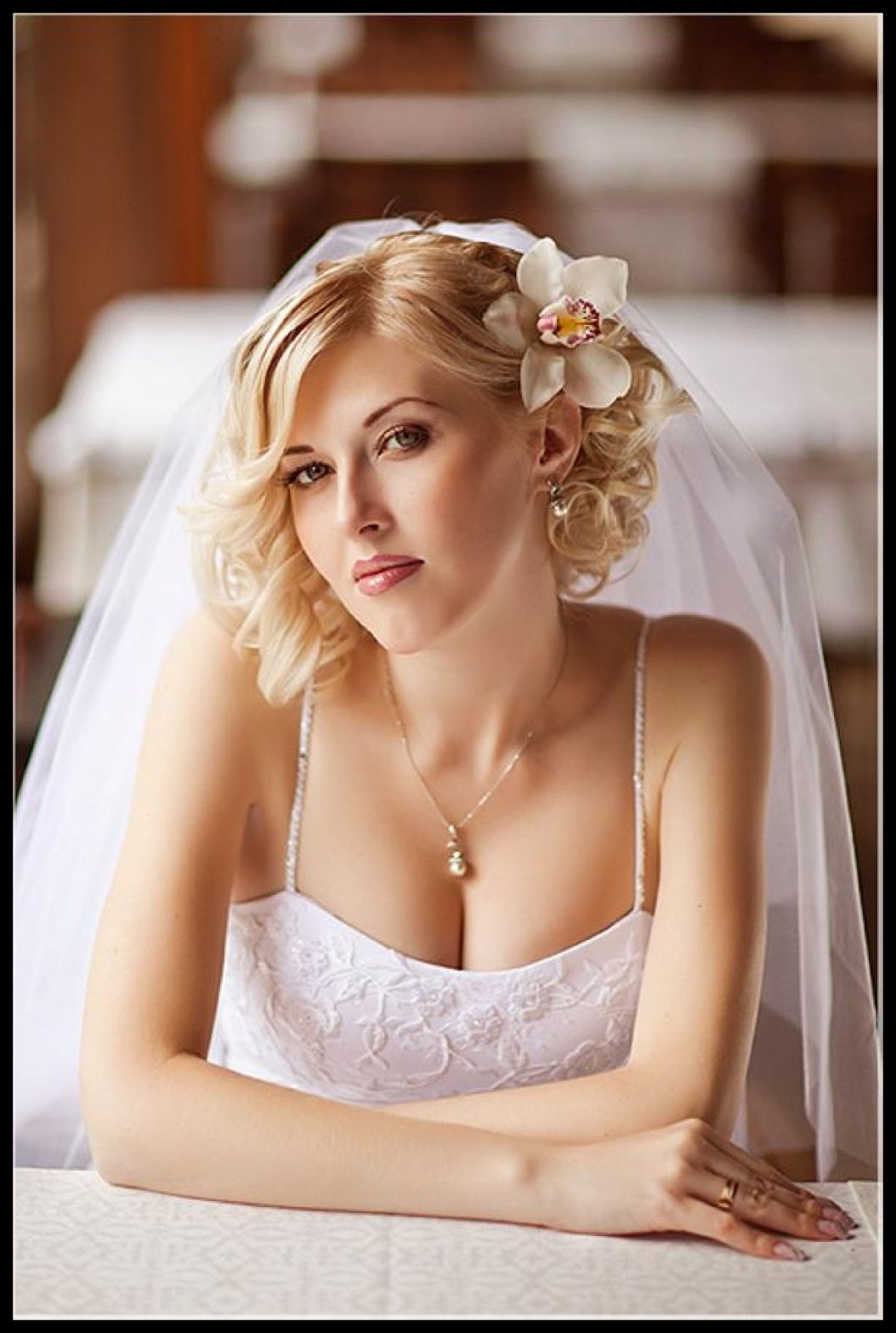 Appealing Half Up Curly Wedding Hairstyles For Long Hair Popular Of Inside Current Wedding Hairstyles For Short Hair With Veil (Gallery 13 of 15)