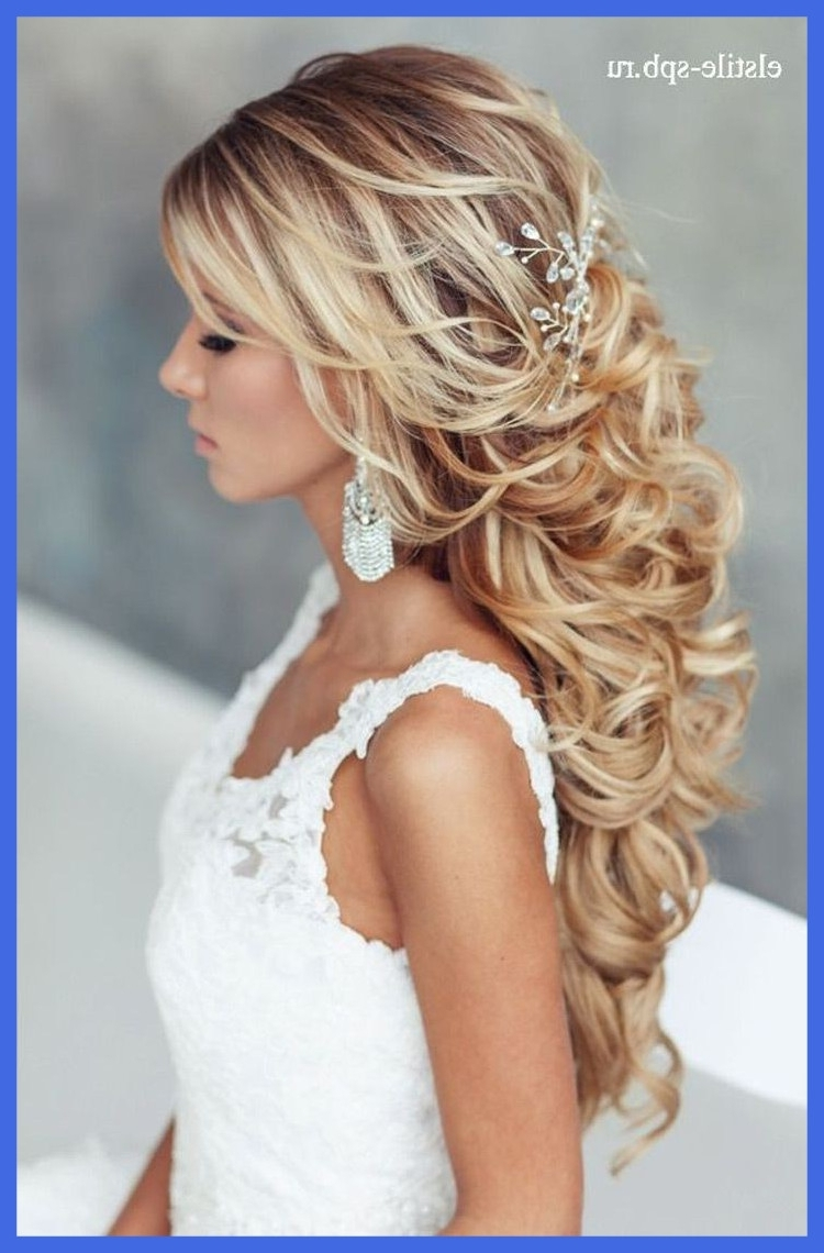 Appealing Loose Updo Hairstyles For Long Hair Wedding Picture Ideas Pertaining To Current Wedding Hairstyles For Long Loose Hair (Gallery 1 of 15)