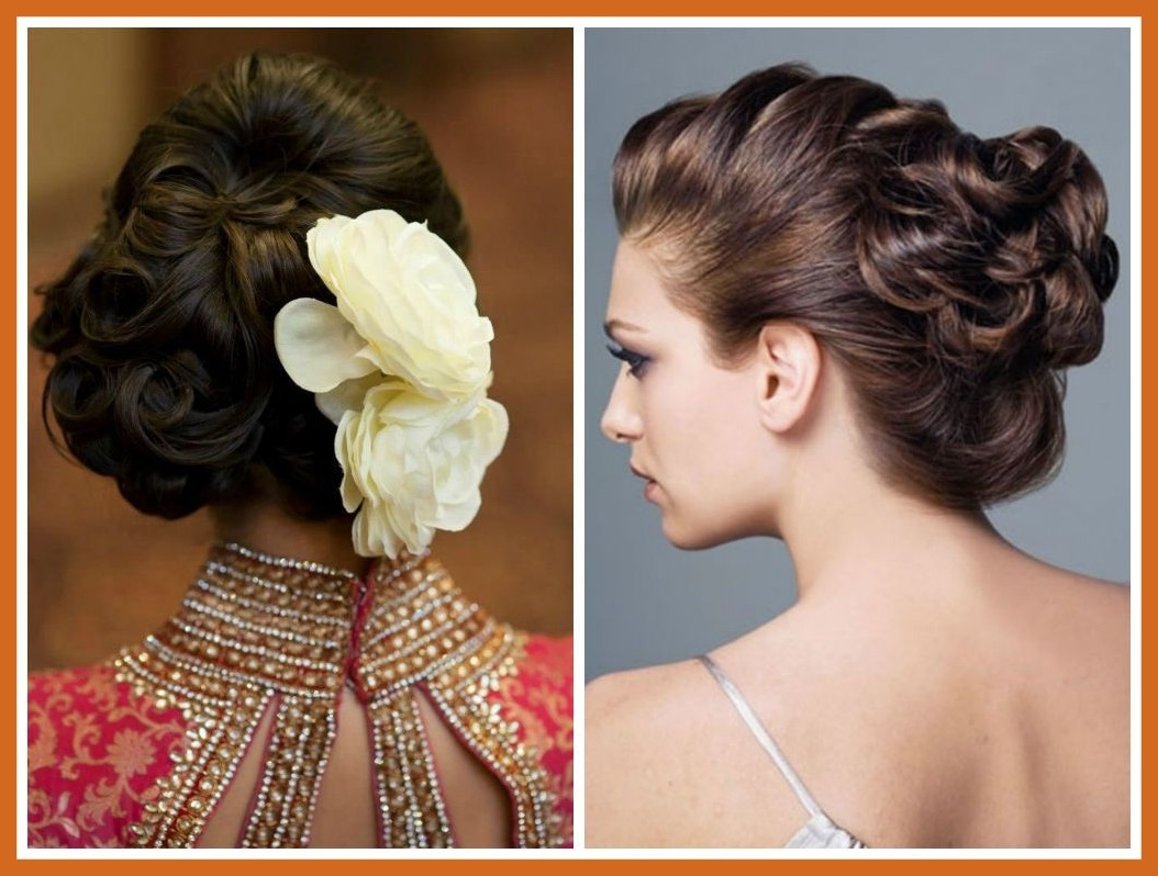 Appealing Simple Updo For Short Hair Hairstyle Ideas In Pics Of Inside 2017 Wedding Dinner Hairstyle For Short Hair (View 4 of 15)