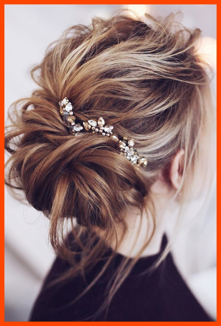 Appealing Wedding Hairstyles Mediumh Hair Half Up Diy Shoulder Inside Widely Used Diy Wedding Hairstyles For Medium Length Hair (View 6 of 15)