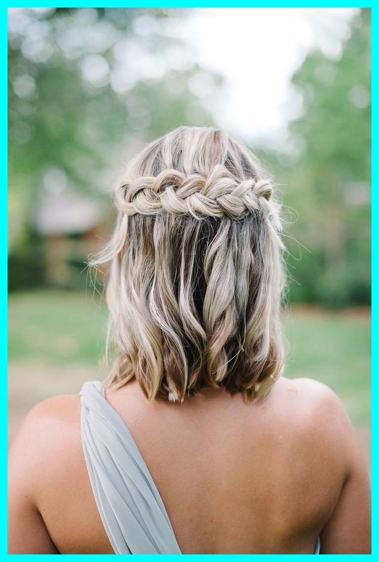 Astonishing Best Short Hairstyles Hair Ideas Image Of Casual Wedding Pertaining To Recent Casual Wedding Hairstyles For Short Hair (View 1 of 15)