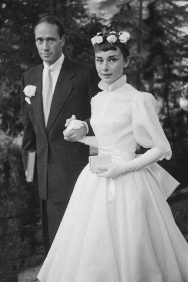 Audrey Hepburn Within Well Liked Audrey Hepburn Wedding Hairstyles (View 8 of 15)