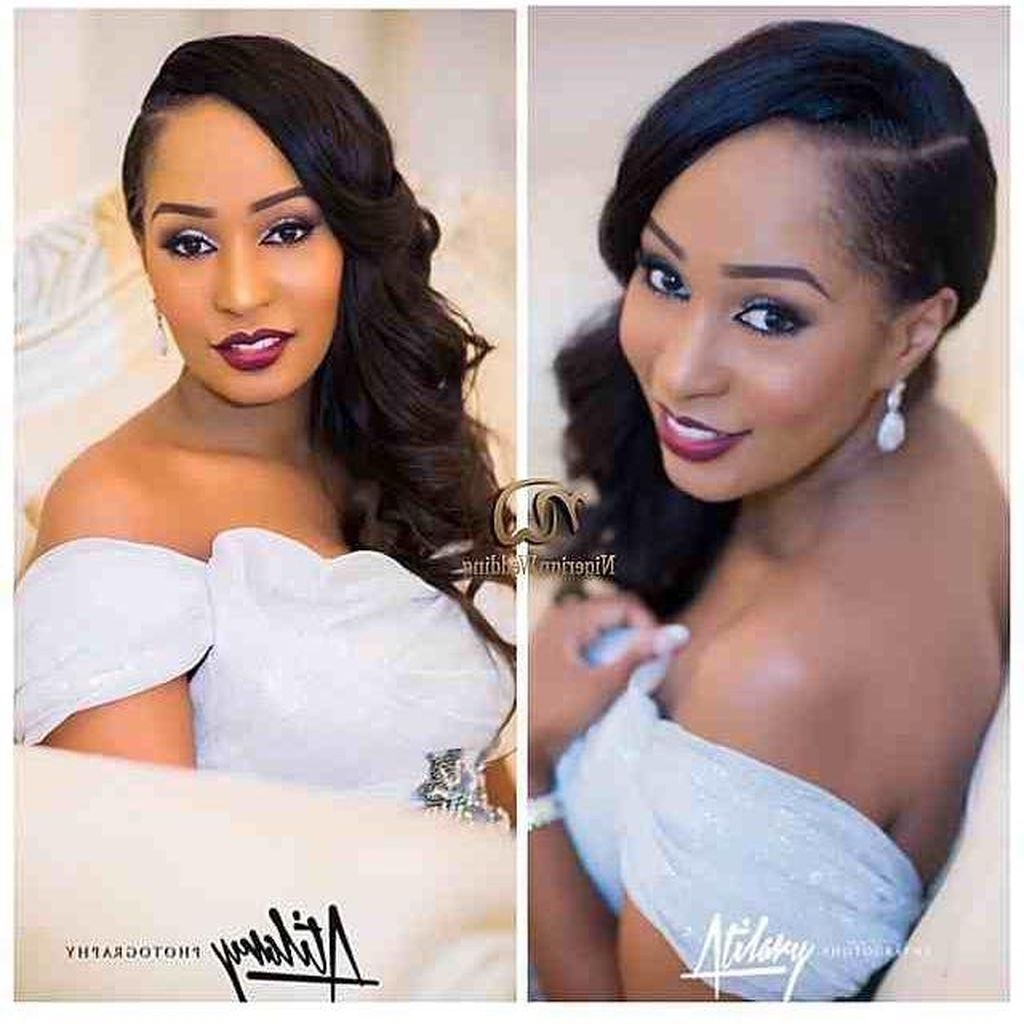 Awesome 75 Stunning African American Wedding Hairstyles Ideas For Inside Most Popular Wedding Hairstyles For African American Brides (Gallery 15 of 15)