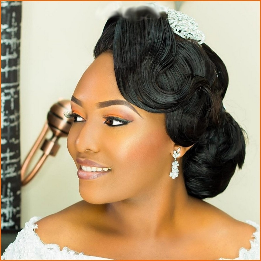 Awesome Black People Wedding Hairstyles Contemporary – Styles Throughout Most Recent Ebony Wedding Hairstyles (View 3 of 15)