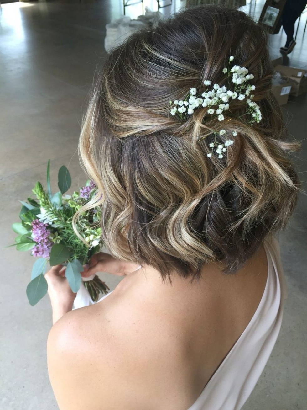 Awesome Wedding Hairstyles For Short Hair Bridesmaids #2 Bridesmaid For Current Short Wedding Hairstyles For Bridesmaids (Gallery 10 of 15)