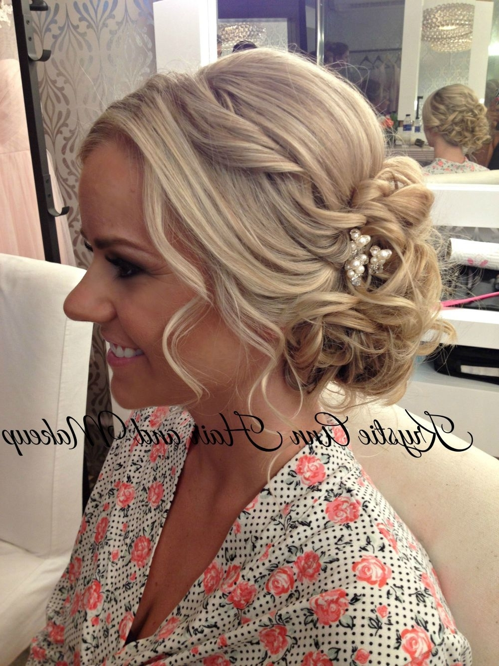 Beautiful Beachy Updo! Hair: Www (View 6 of 15)
