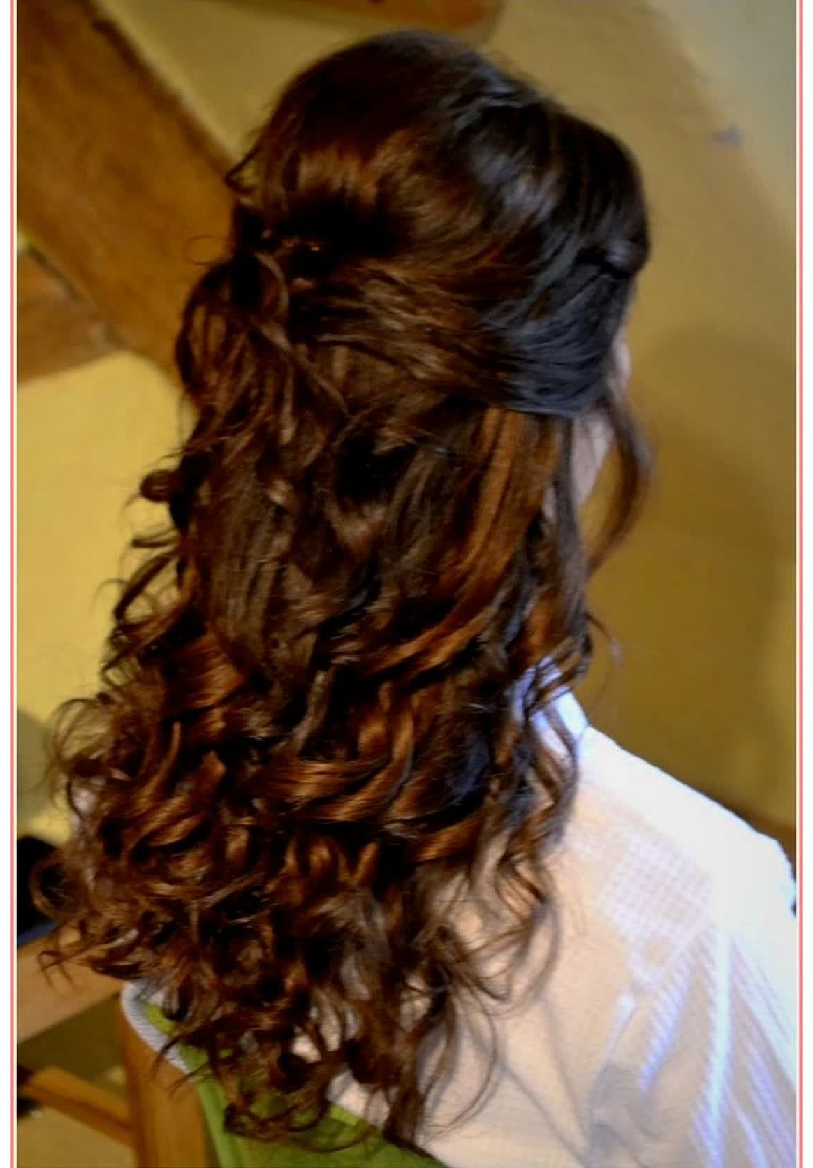Beautiful Hairstyles Half Up Wedding Hairstyles Long Hair – Best For Best And Newest Half Up Wedding Hairstyles For Long Hair (View 6 of 15)