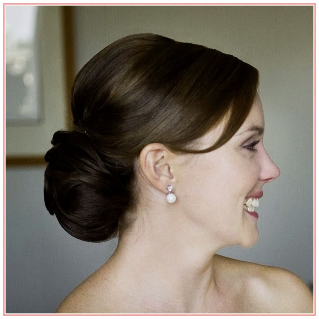 Beautiful Hairstyles Wedding Hairstyles Low Bun – Best Hairstyles Throughout Most Recent Low Bun Wedding Hairstyles (View 3 of 15)