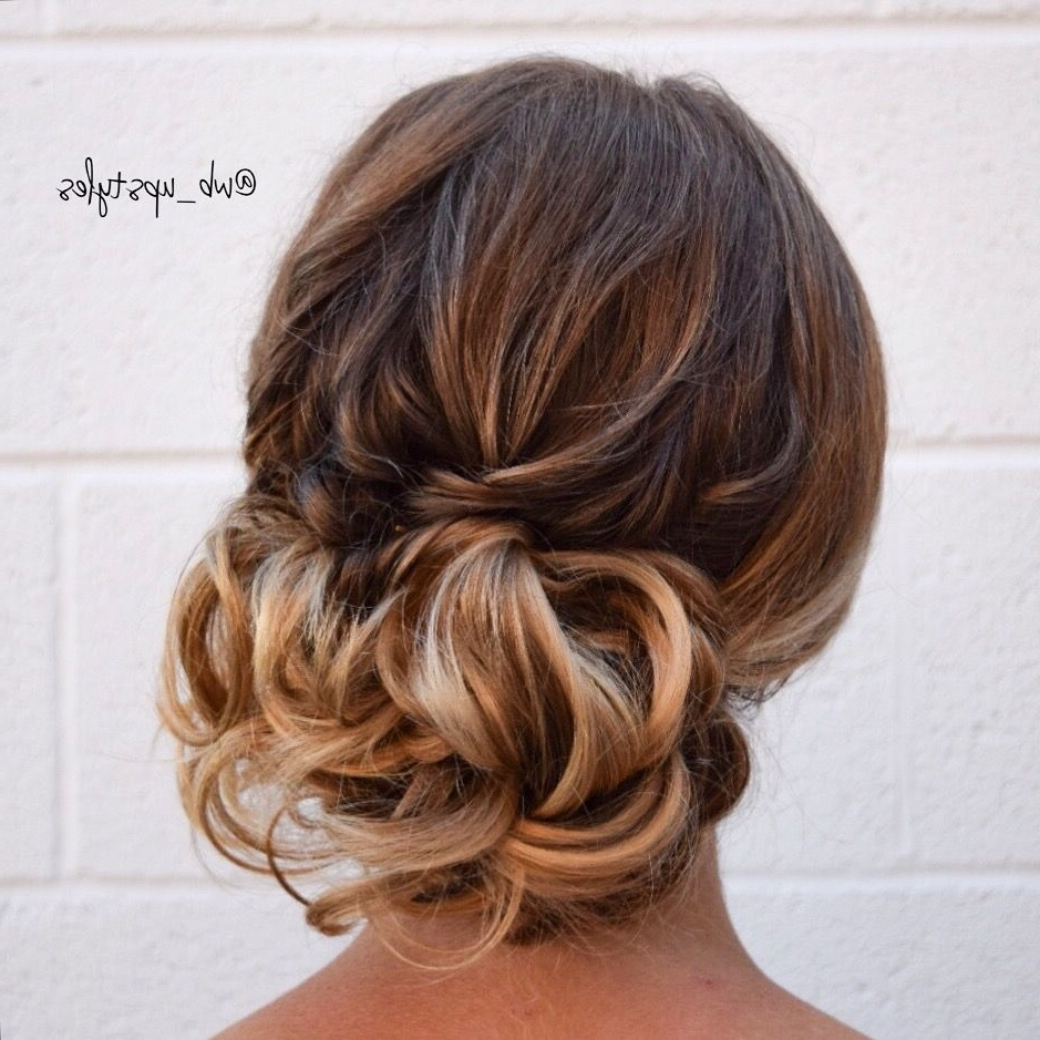 Beautiful Wedding Hairstyle, Off To The Side Low Bun (View 5 of 15)