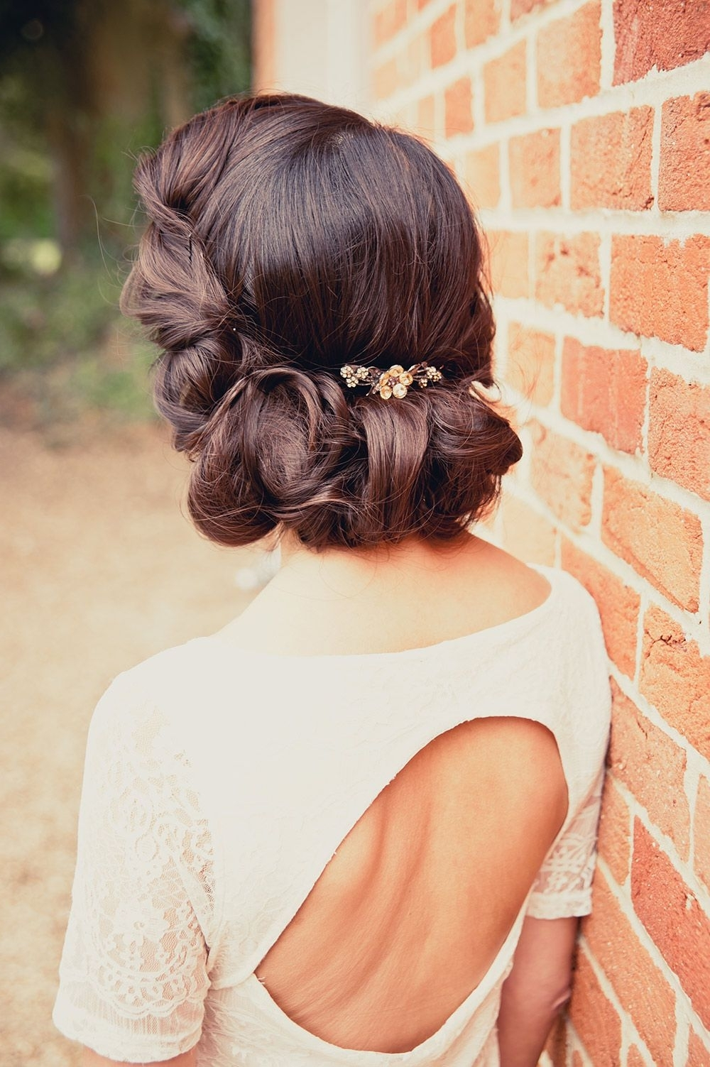 Beautiful Wedding Updos: 17 Inspirational Styles For Your Big Day Pertaining To Well Known Retro Wedding Hairstyles For Long Hair (View 9 of 15)