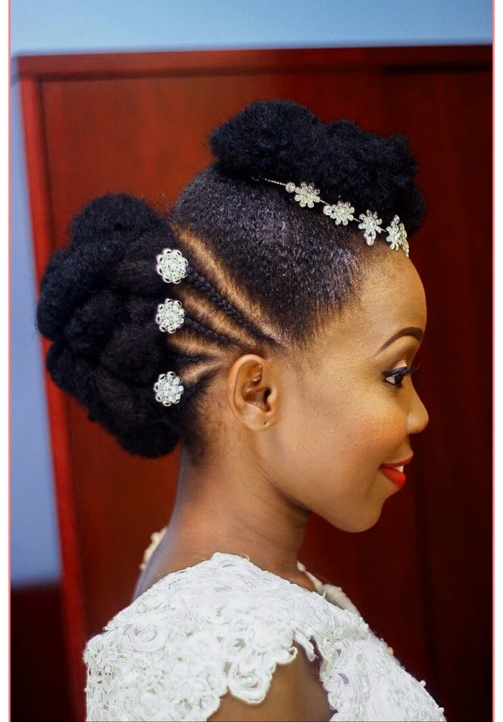 Best And Newest African Wedding Hairstyles Within Brilliant Ideas African Bridal Hairstyles Pictures – Best Hairstyles (Gallery 1 of 15)