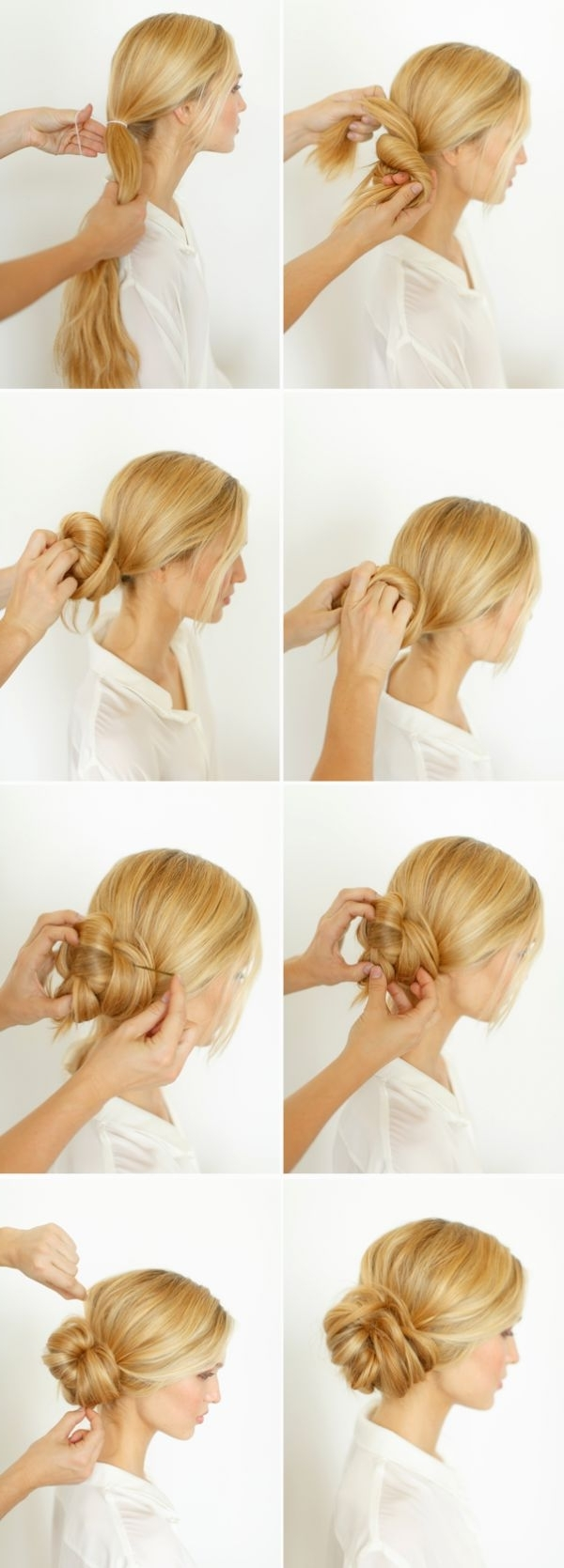 Best And Newest Diy Wedding Updos For Long Hair Throughout Diy Wedding Hairstyles Best Bridal At Home Tutorial You Tube (View 4 of 15)