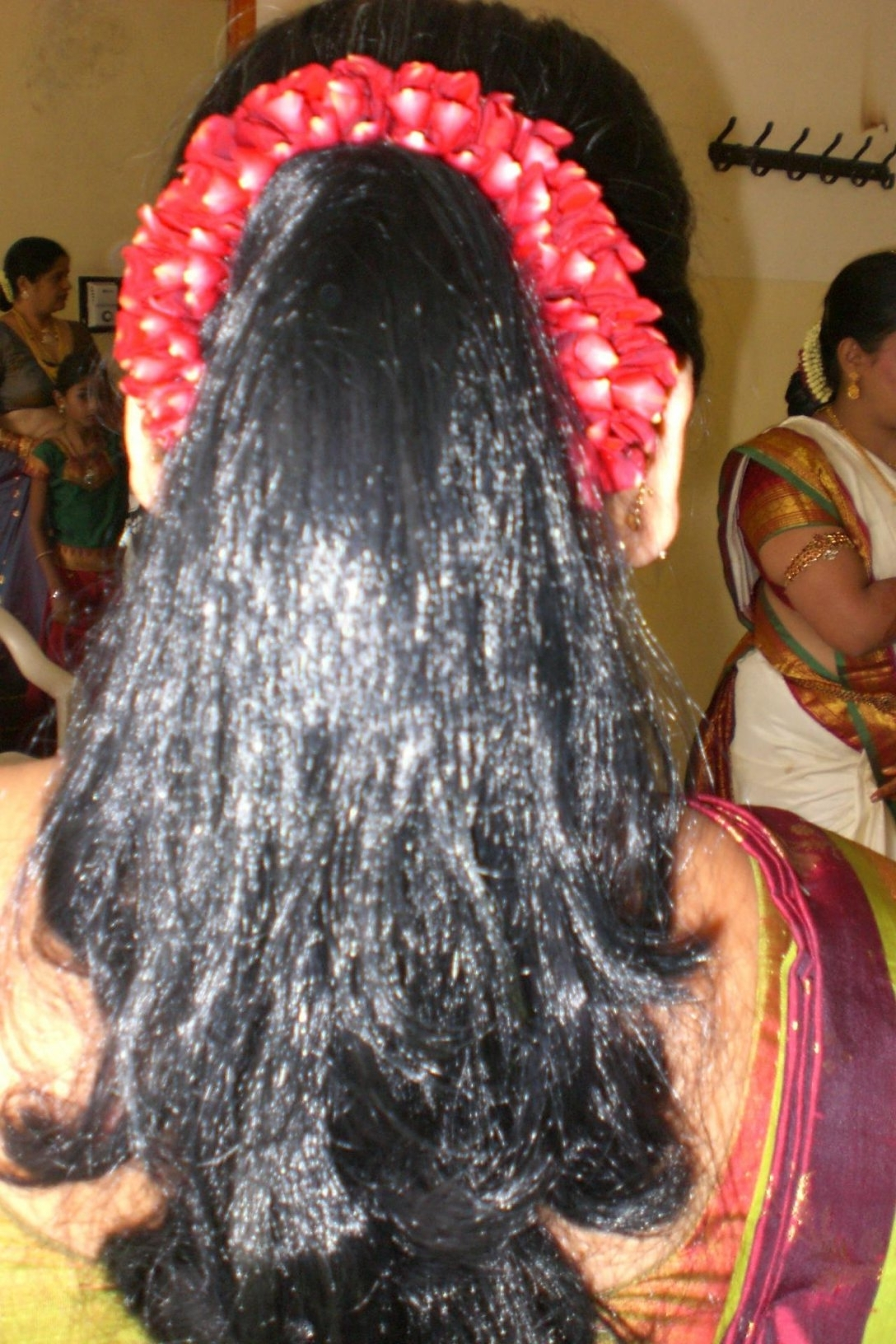 Best And Newest Indian Wedding Reception Hairstyles For Long Hair With Regard To South Indian Bridal Hairstyles For Long Hair – Hairstyle For Women (View 2 of 15)