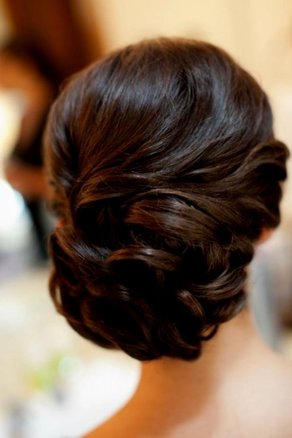 Best And Newest Low Updo Wedding Hairstyles Within Wedding Hairstyles For Long Curly Hair Updos Wedding Hairstyles For (View 2 of 15)