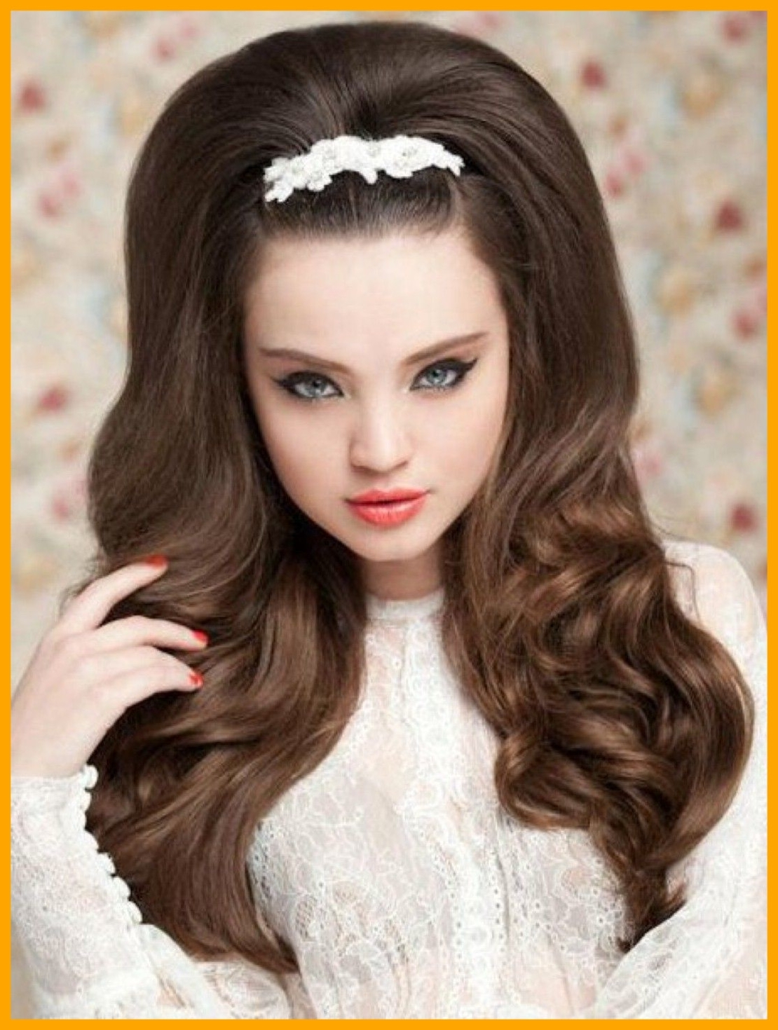 Best And Newest Pin Up Wedding Hairstyles Within Appealing Trends For U Pin Up Hairstyles Long Hair Peinado De No (View 10 of 15)