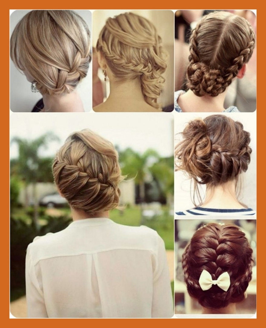Best And Newest Quick Wedding Hairstyles For Long Hair With Amazing Bun Updo Hairstyle Long Hair How To Easy Quick Cute Of Ideas (View 5 of 15)