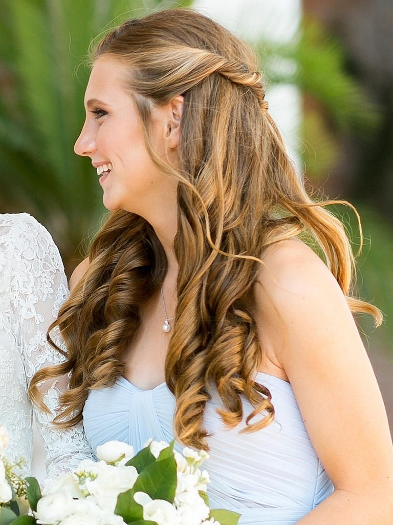 Best And Newest Wedding Hairstyles For A Strapless Dress Inside 15 Best Bridesmaid Hairstyles For A Strapless Dress (View 3 of 15)