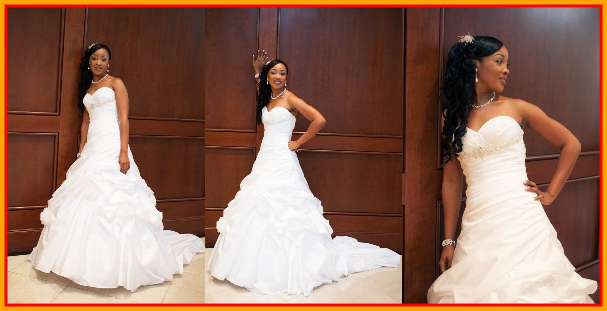 Best And Newest Wedding Hairstyles For African American Brides Regarding Amazing Wedding Hairstyles For African American Brides Black Picture (View 4 of 15)