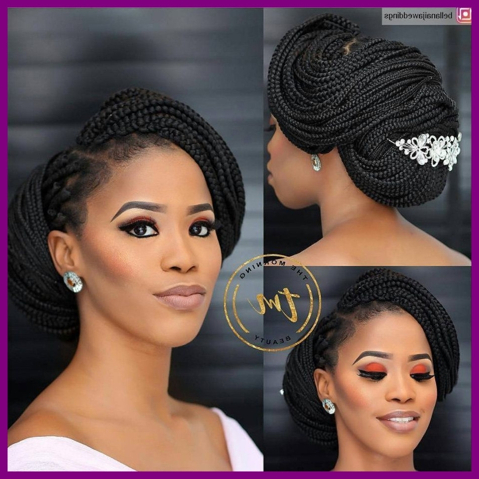 Best And Newest Wedding Hairstyles For Black Hair With Appealing Blushing Brides Serving The Ultimate Natural Hair Inspo (View 2 of 15)