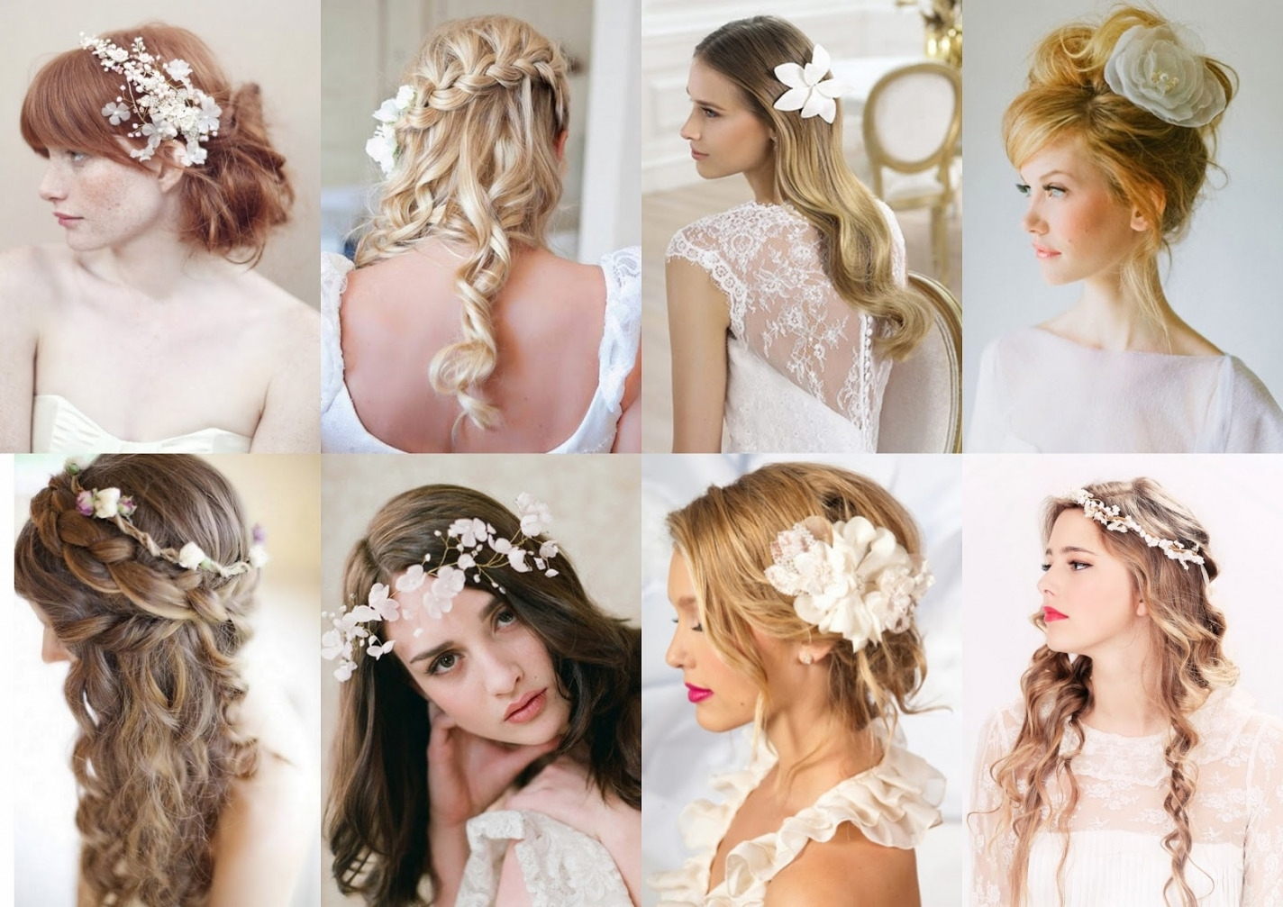 Featured Photo of Wedding Hairstyles For Long Hair With Fascinator