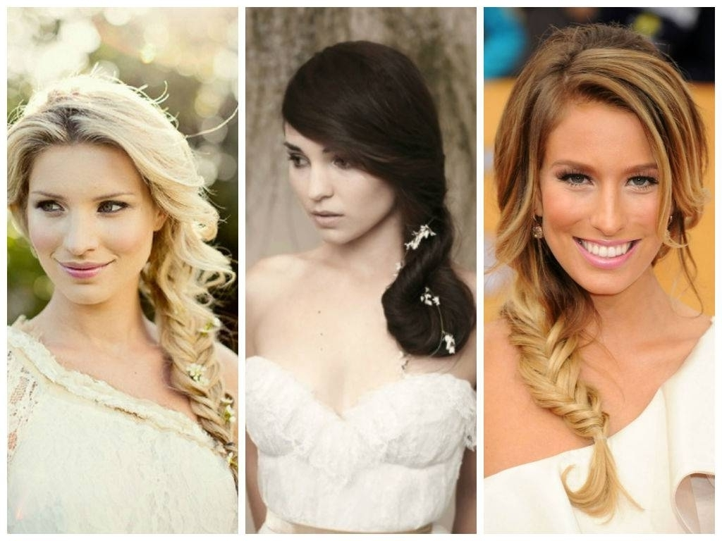 Best And Newest Wedding Hairstyles For Long Hair With Round Face Within Wedding Hairstyles For A Round Face Shape Hair World Magazine (View 2 of 15)