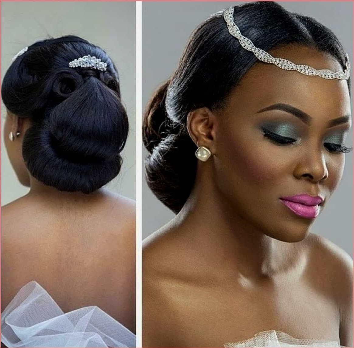 Best And Newest Wedding Hairstyles For Nigerian Brides For Brilliant Ideas Wedding Hairstyles For Nigerian Brides – Best (View 8 of 15)