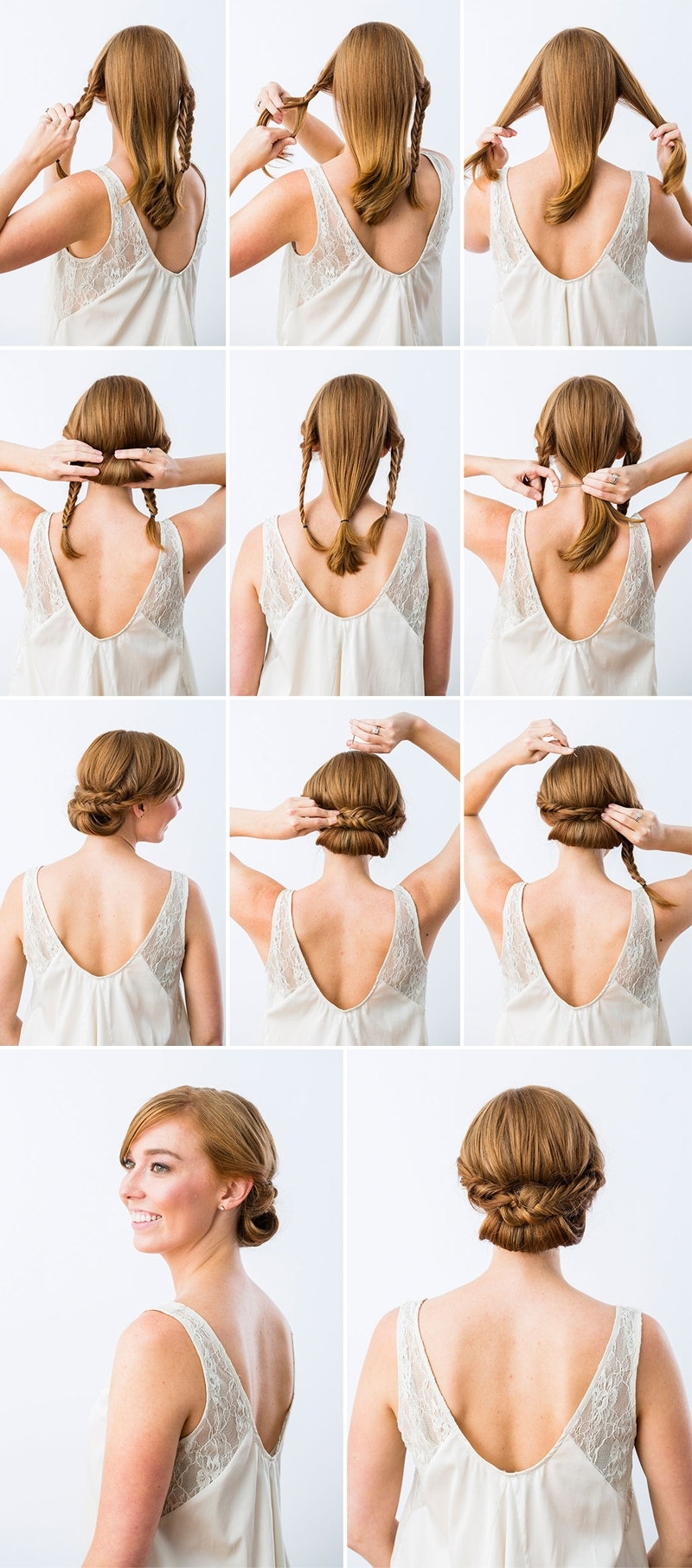 Best And Newest Wedding Hairstyles Updo Tutorial Throughout Perfect Wedding Day Best Bridal Hairstyles Diy At Home Bridesmaid (View 9 of 15)