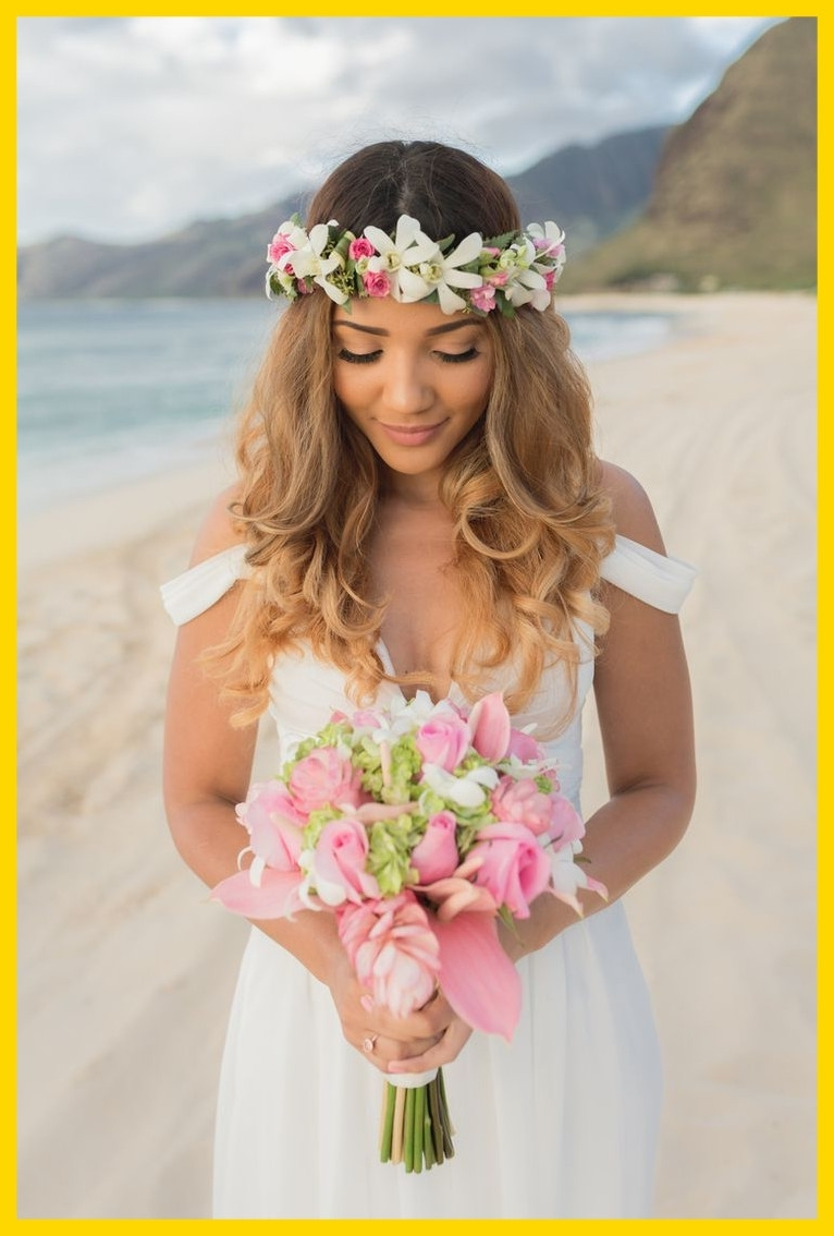 Best Beach Wedding Hair Styles Bridal Pic For Updo And Inspiration Within Well Liked Beach Wedding Hairstyles For Bridesmaids (View 4 of 15)