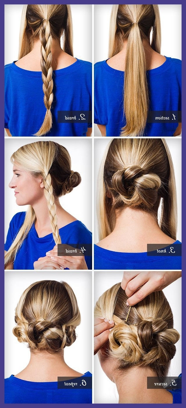 Best Braids Twists And Buns Easy Diy Wedding Hairstyles Offbeat In Recent Diy Wedding Hairstyles For Long Hair (View 4 of 15)