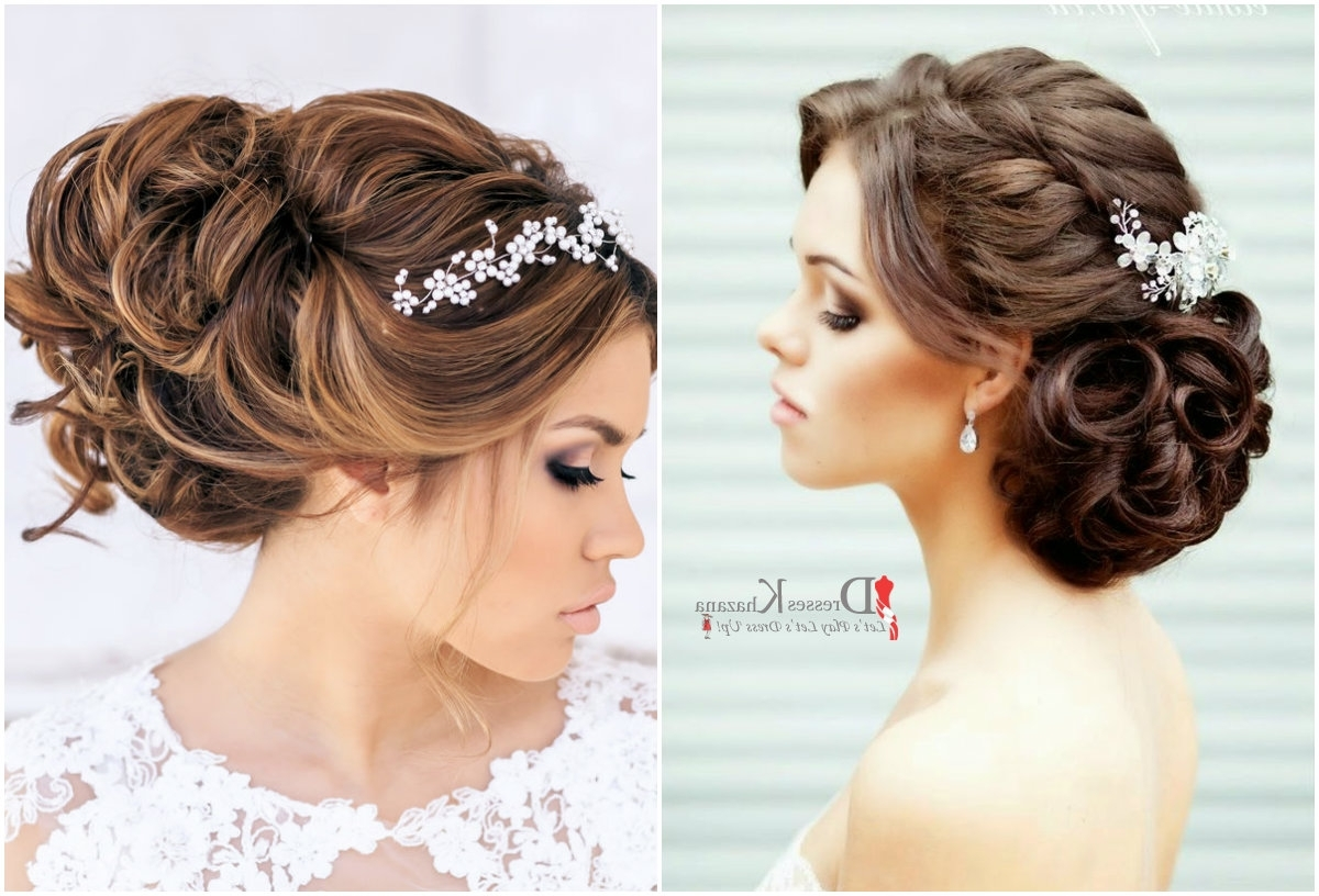 Best Bridal Hairstyles For Round Face (View 3 of 15)