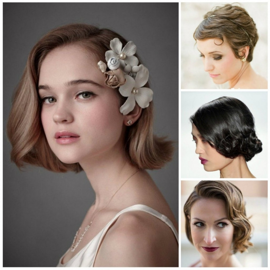 Best For Best And Newest Short Wedding Hairstyles (View 5 of 15)