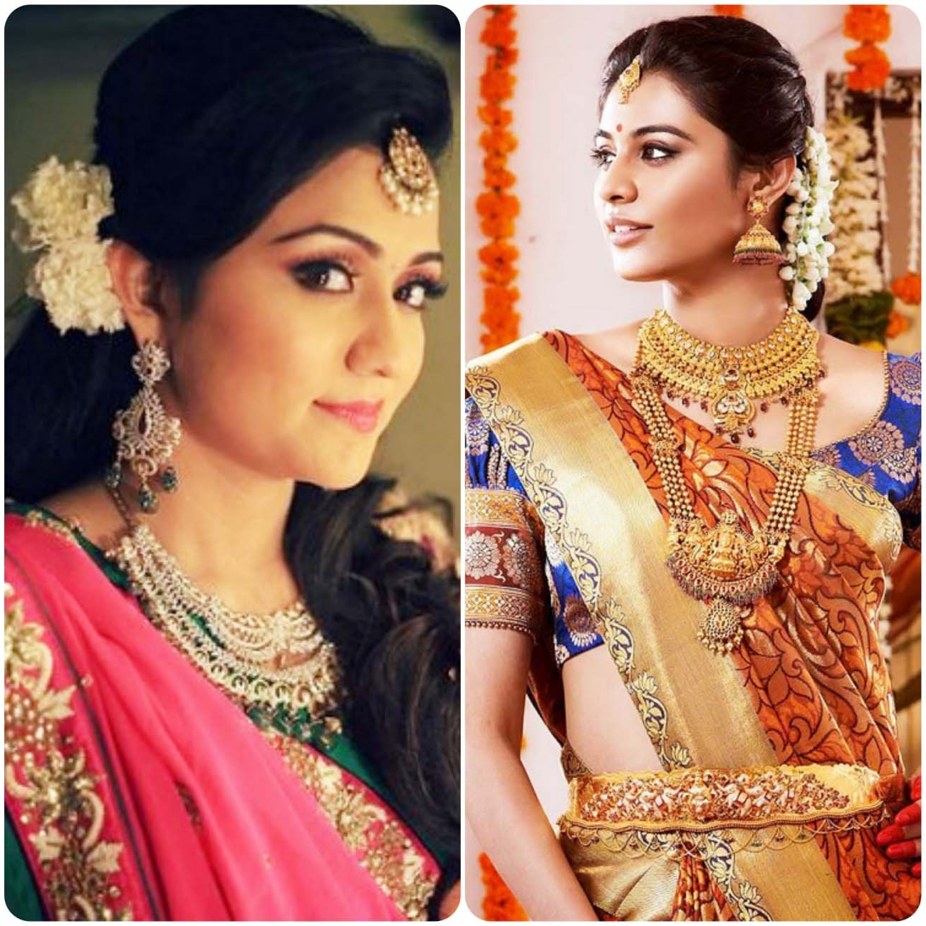 Best Hairstyle For Indian Wedding Photos – Styles & Ideas 2018 In Favorite Wedding Hairstyles For Indian Bridesmaids (View 8 of 15)