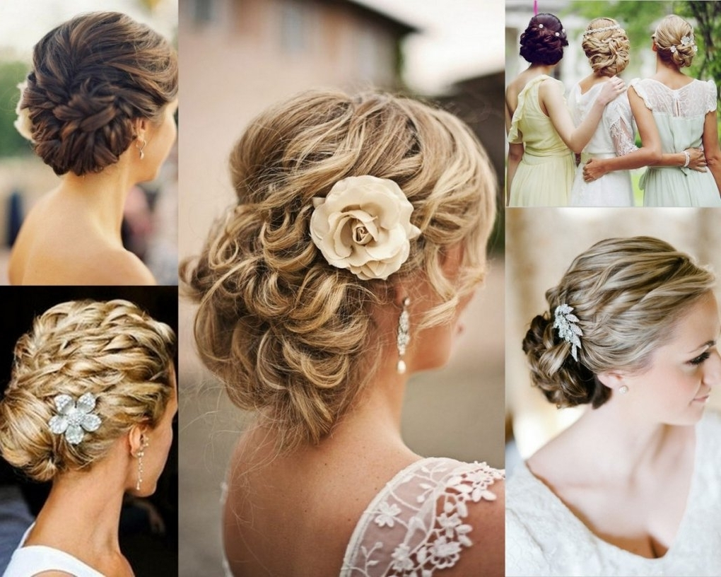 Best In Well Liked Updos Wedding Hairstyles For Short Hair (View 8 of 15)