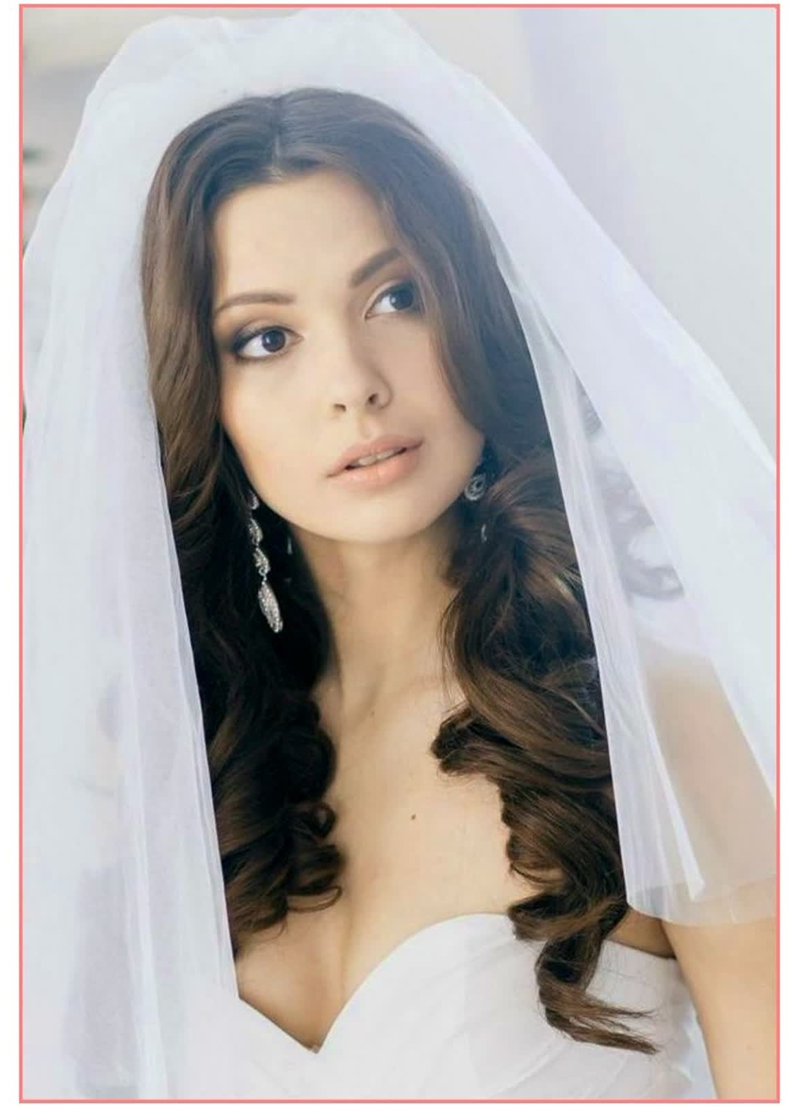 Best Long Hair Wedding Hairstyles With Veil – Best Hairstyles For Pertaining To Most Popular Wedding Hairstyles With Veil Over Face (View 16 of 17)