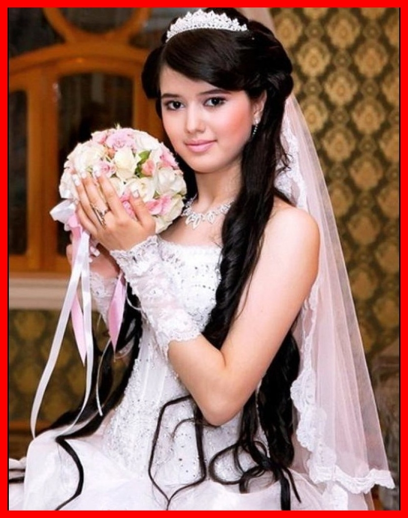 Best Most Bridal Wedding Hairstyles For Long Hair Hairzstyle Pict Throughout Famous Wedding Hairstyles For Long Hair With Veil (View 3 of 15)