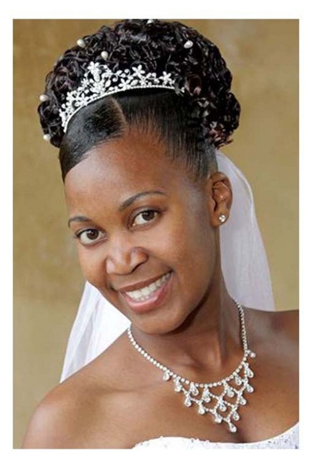 Black Pertaining To Most Popular Wedding Hairstyles For Natural African American Hair (View 15 of 15)