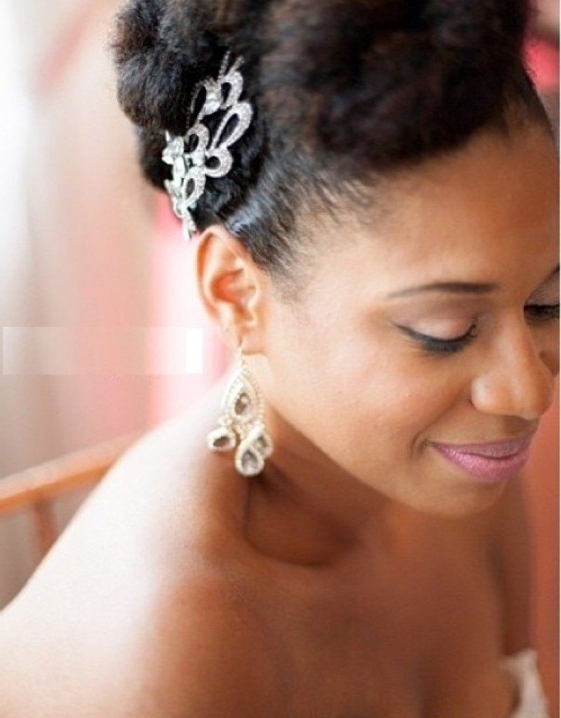 Black Wedding Hairstyles – Hairstyles Inspiration Intended For Most Popular Wedding Hairstyles For Short Ethnic Hair (View 15 of 15)