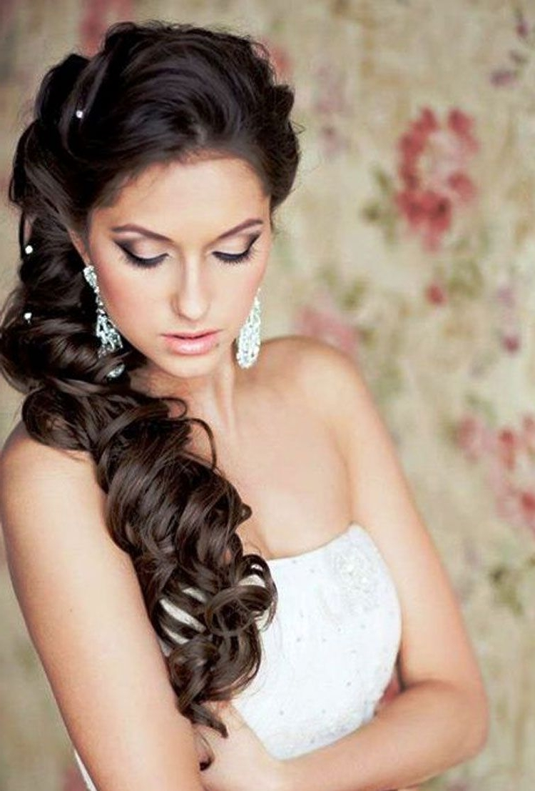 Black Wedding Hairstyles, Long For Best And Newest Wedding Hairstyles For Long Black Hair (View 3 of 15)